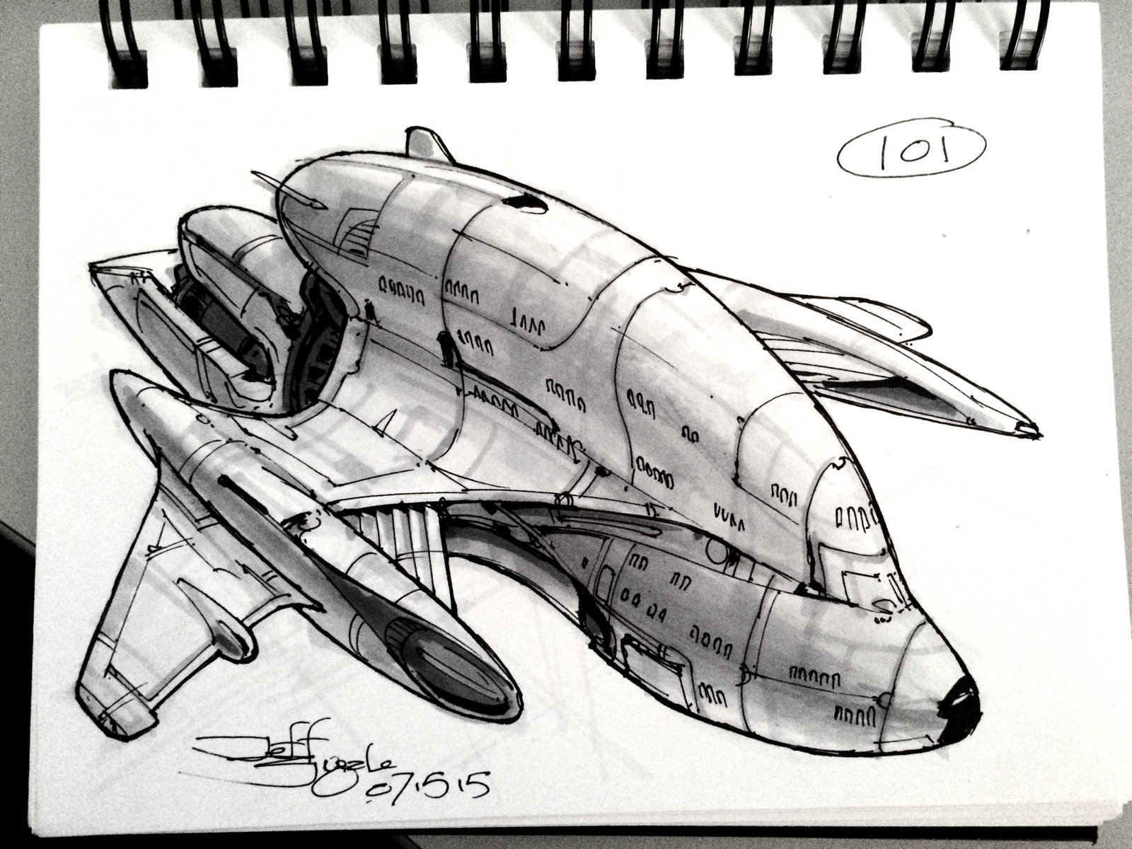 SpaceshipADay 101