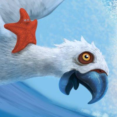 Martin malek parrot surfin detail