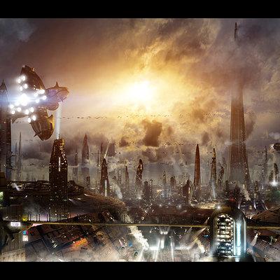 Scott richard futuristic city 3 updated background by rich35211 d5a88fo
