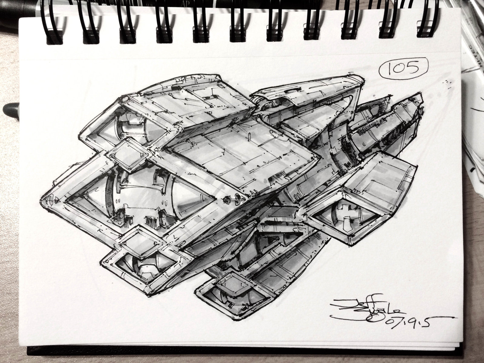 SpaceshipADay 105