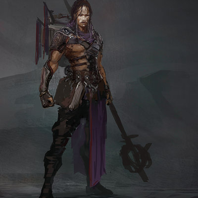 Muyoung kim prpg shadow male concept