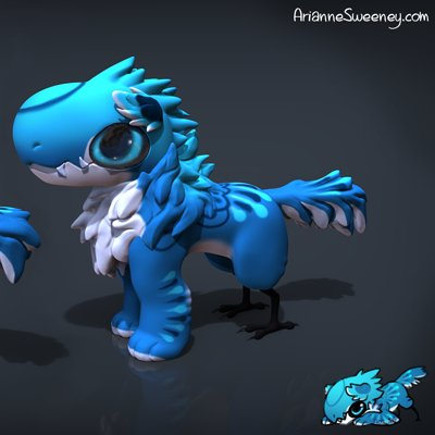 Arianne sweeney azule standing