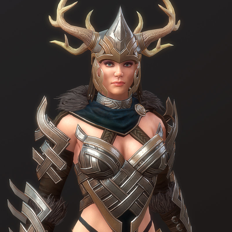 Norn Stag Armor