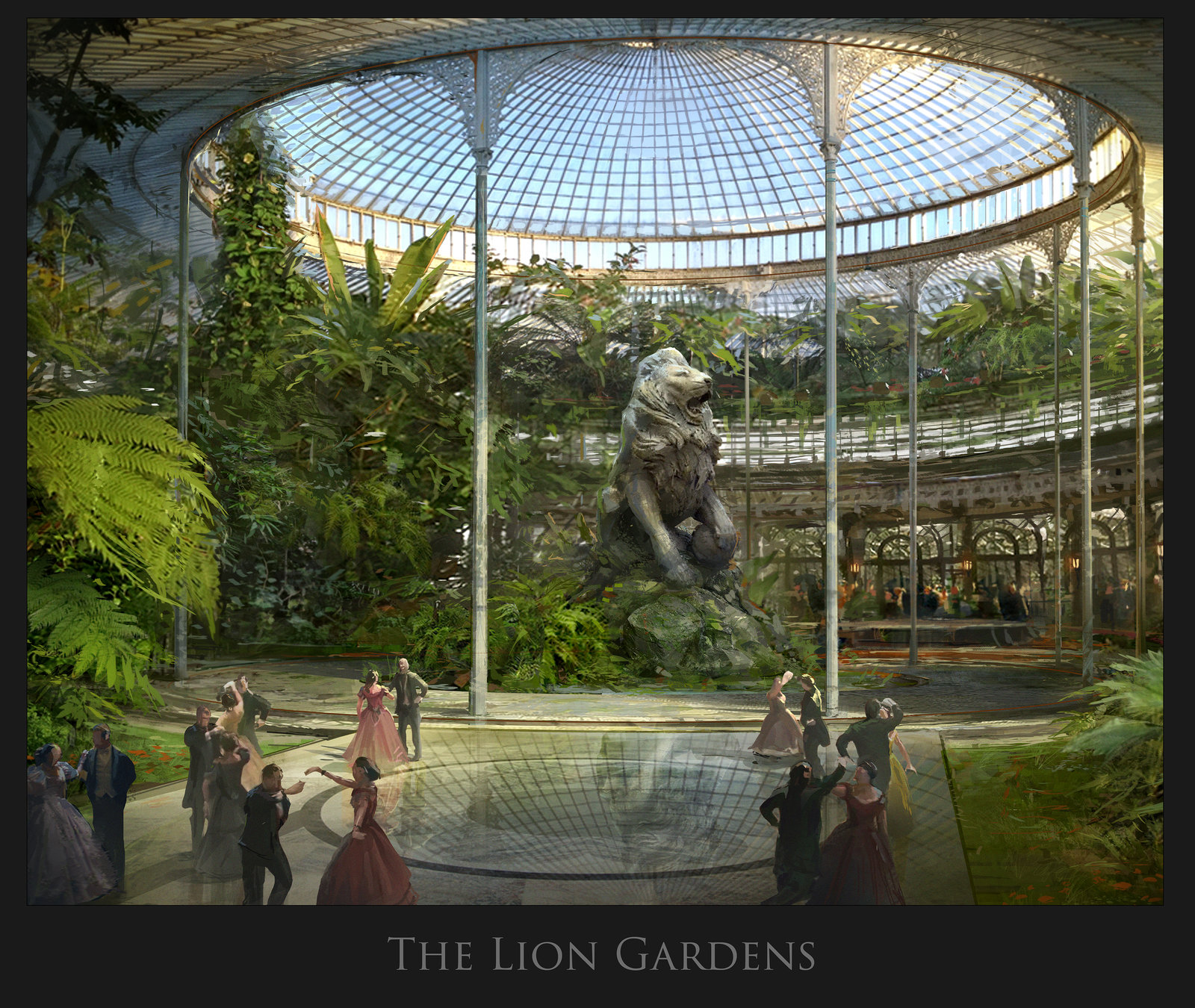 The Lion Gardens