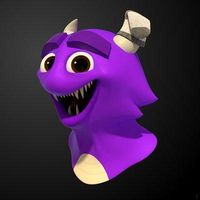 Raz freedman cute monster done 1