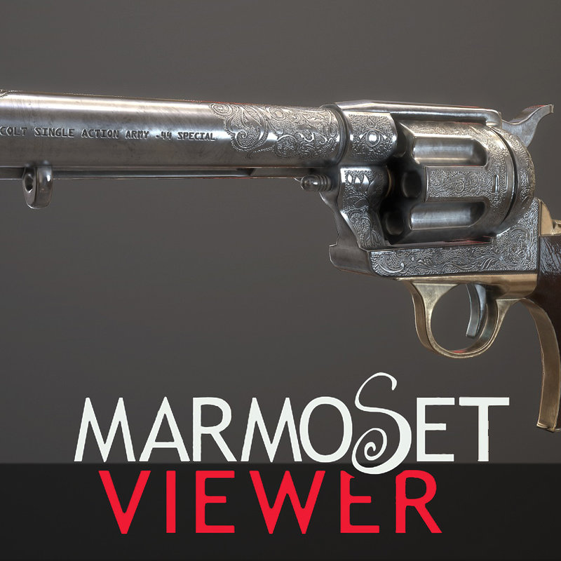 Engraved Revolver real time
