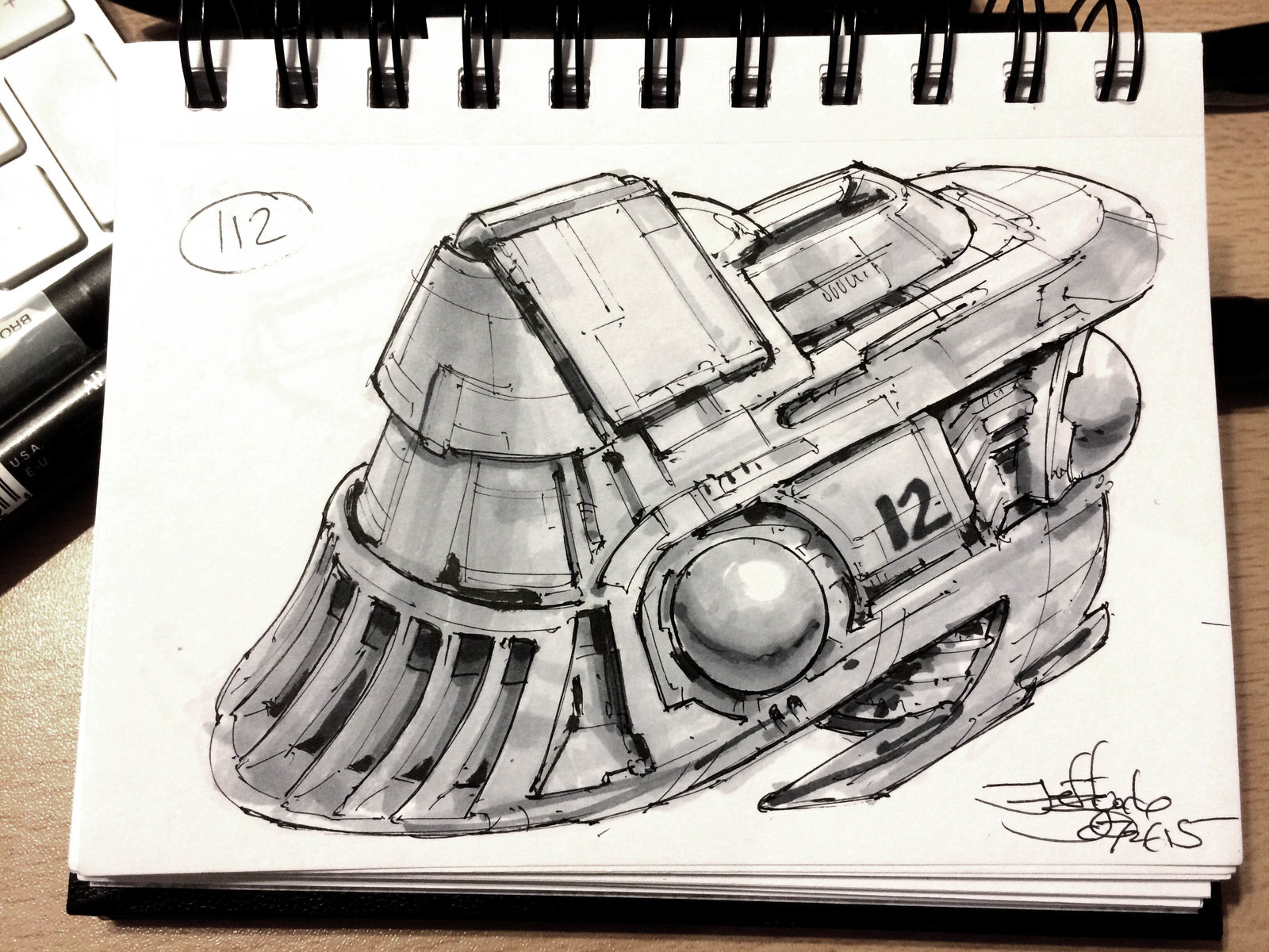 SpaceshipADay 112