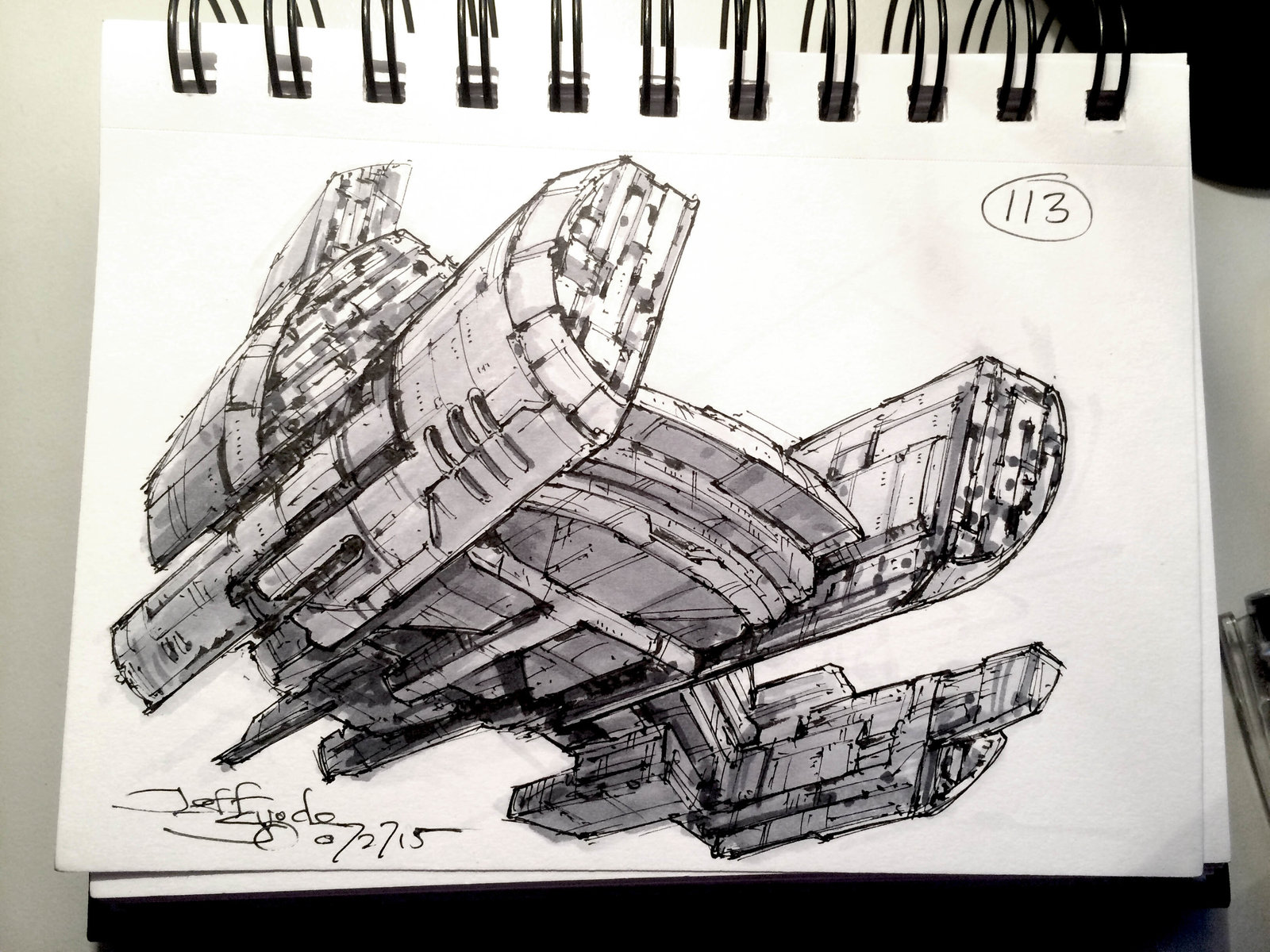 SpaceshipADay 113