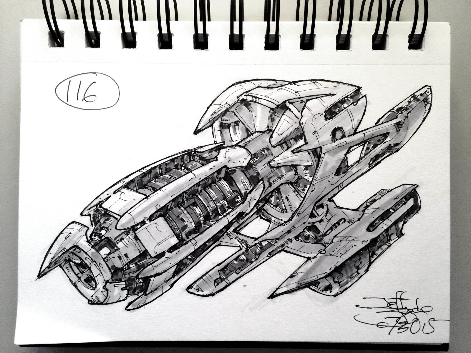 SpaceshipADay 116