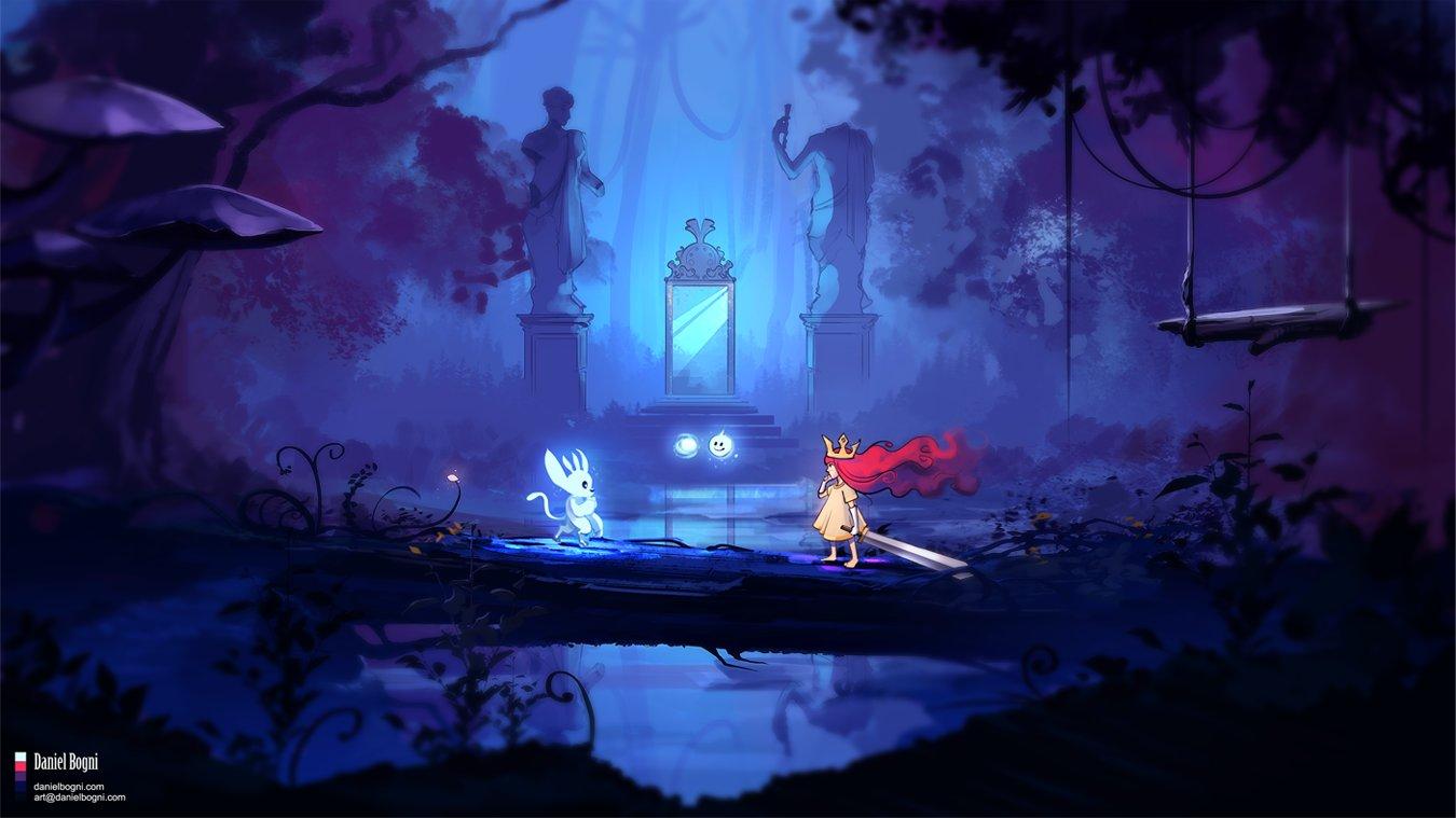 Artstation Fanart Ori And The Blind Forest Child Of Light