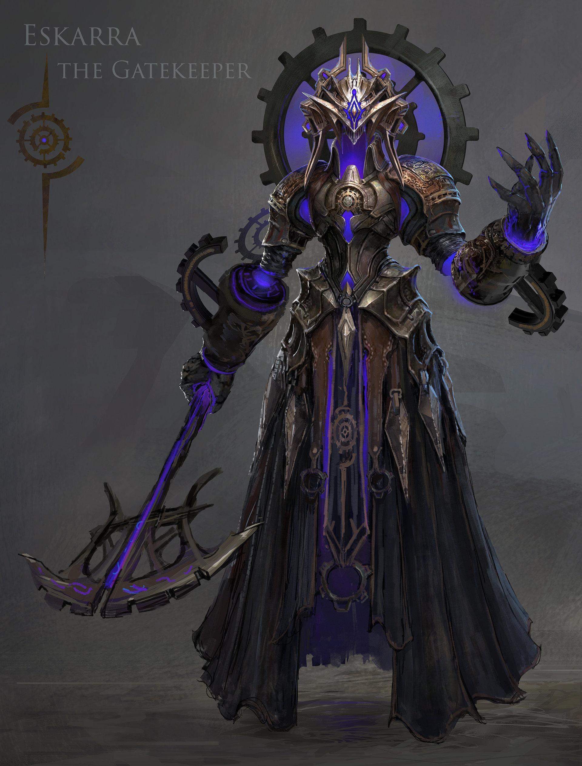 Eskarra the Gatekeeper
