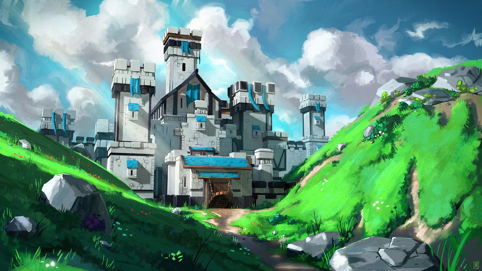 Castle in the Ravine