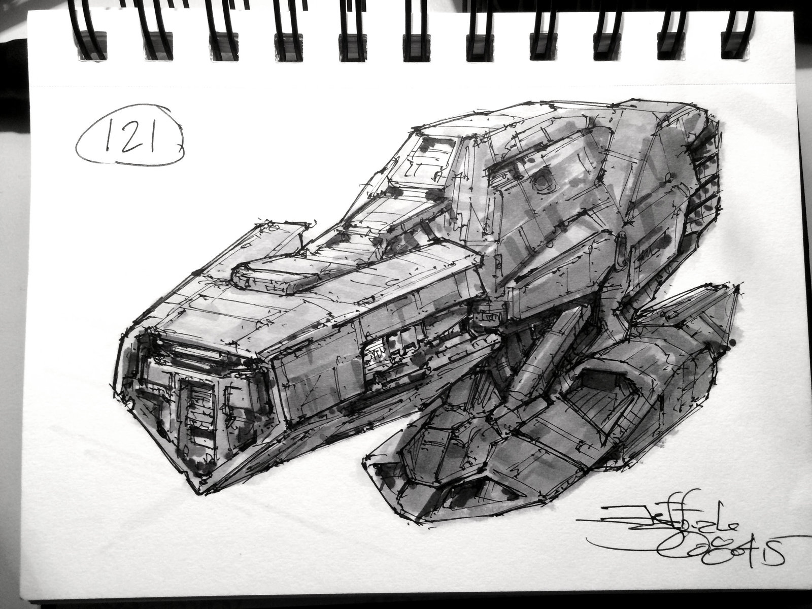 SpaceshipADay 121