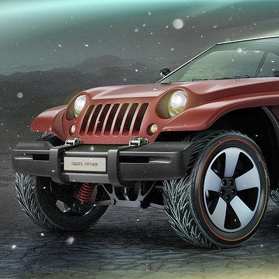 Alexandr novitskiy 1998 jeep jeepster concept 01