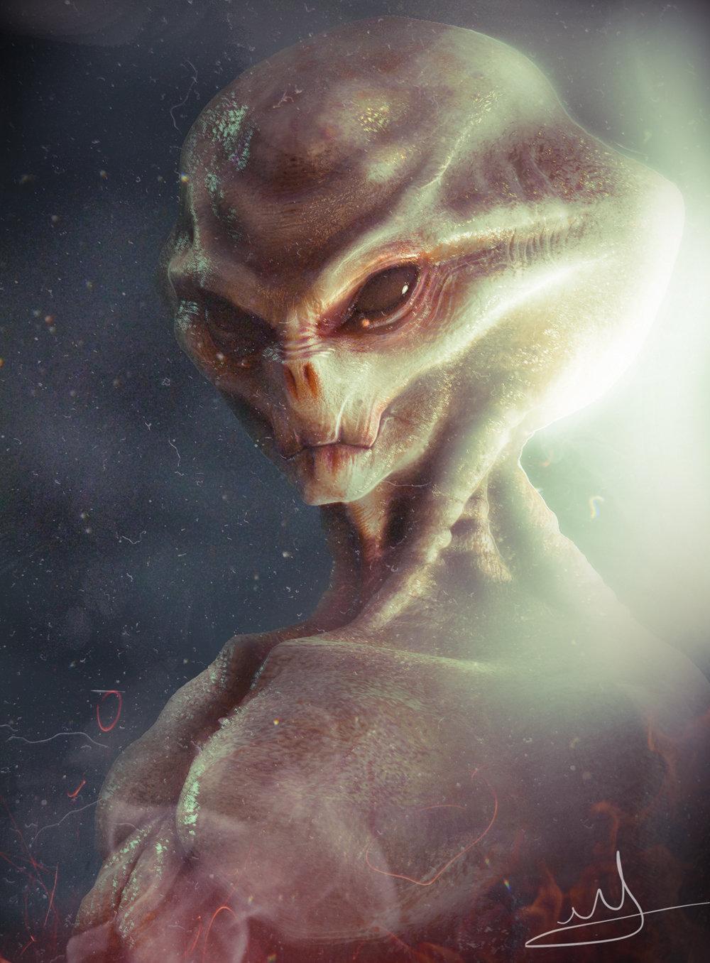 Alien The Grey