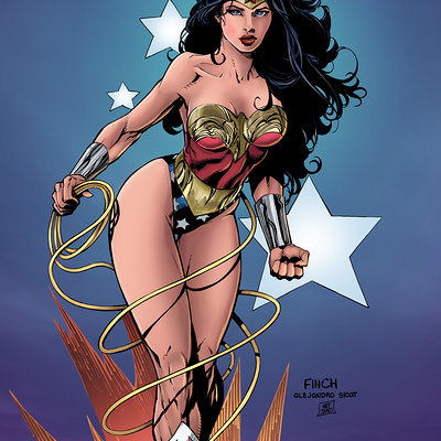Matt james wonder woman david finch flats