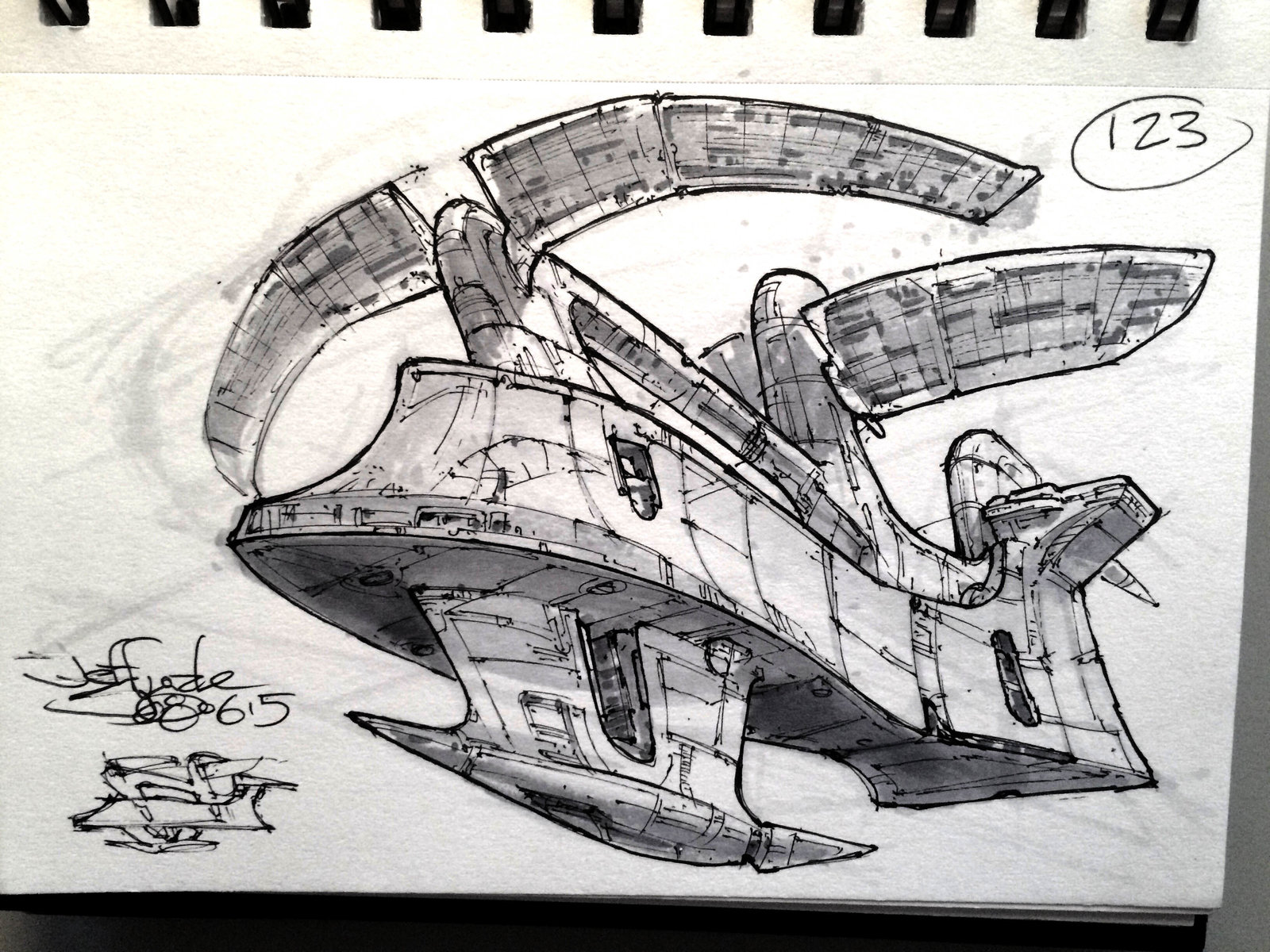 SpaceshipADay 123