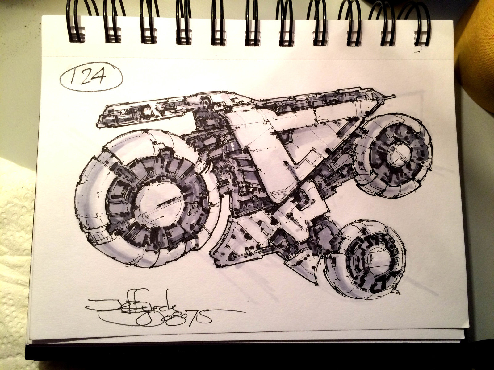 SpaceshipADay 124