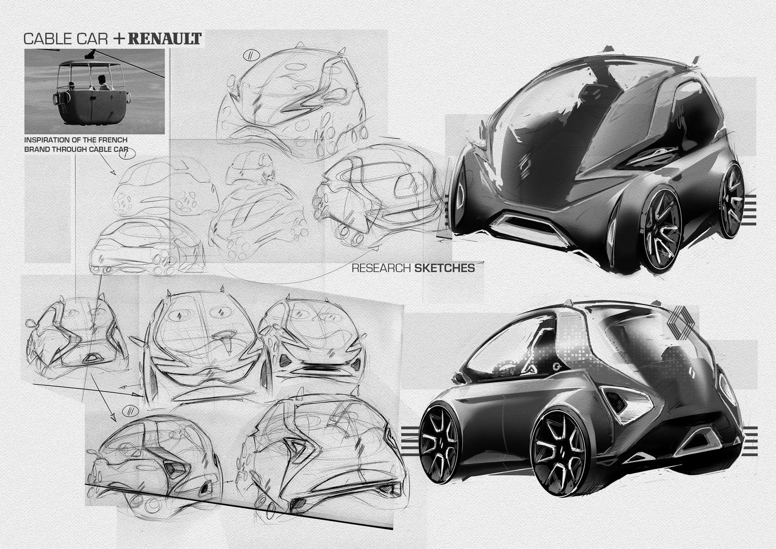 ArtStation - Cable Car + Renault, Andrej Vasiutin