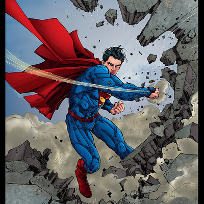 Matt james superman 13 cover by mattjamescomicarts d8rjwky