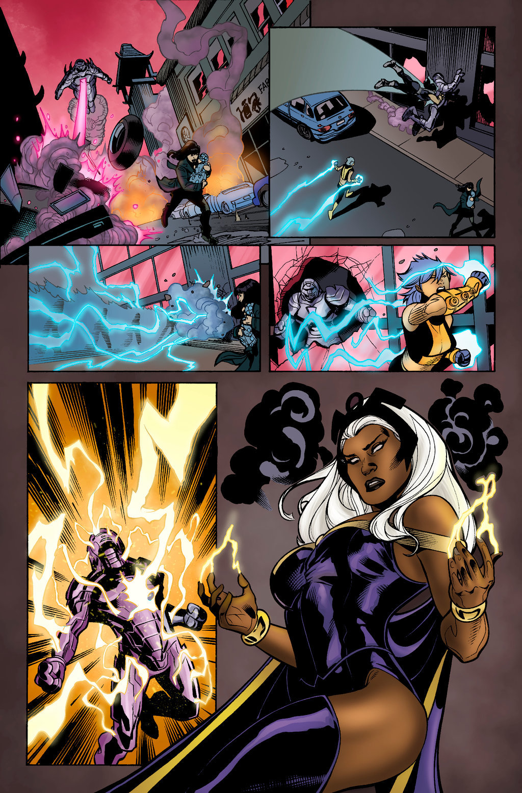 Uncanny X-Men 525 (Sample Colours)