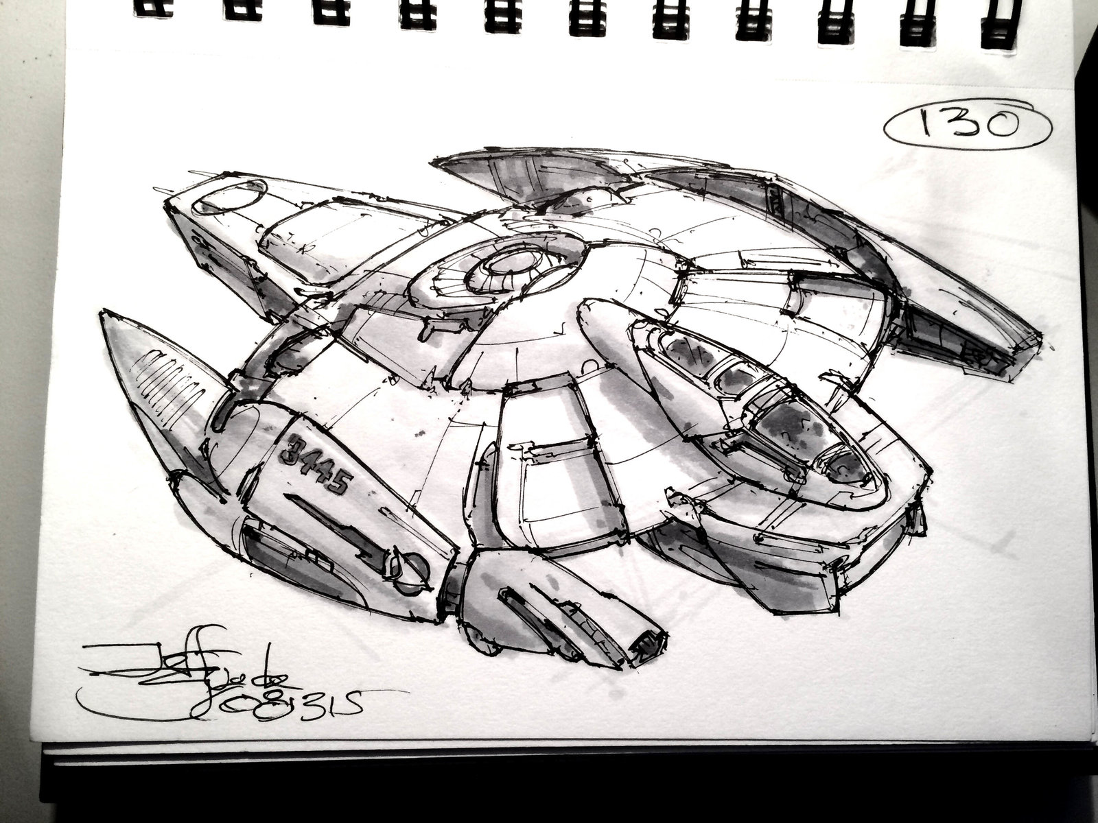 SpaceshipADay 130