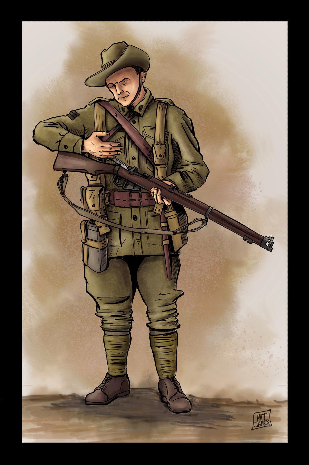 ANZAC Digger (WWI)