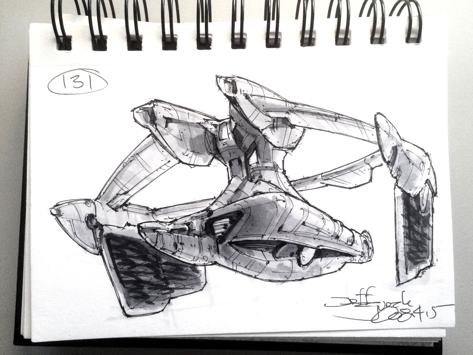 SpaceshipADay 131