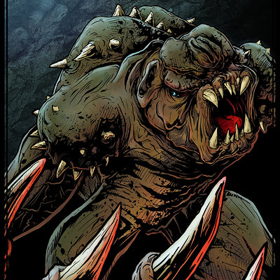 Matt james the rancor by mattjamescomicarts d8nd1cr