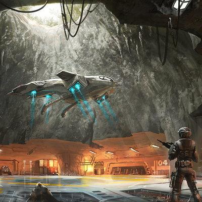 Isaac hannaford ih savannah03 landing cavern