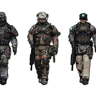 Isaac hannaford ih marine08 variants