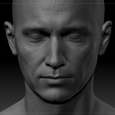 Ui joo moon head zbrush04