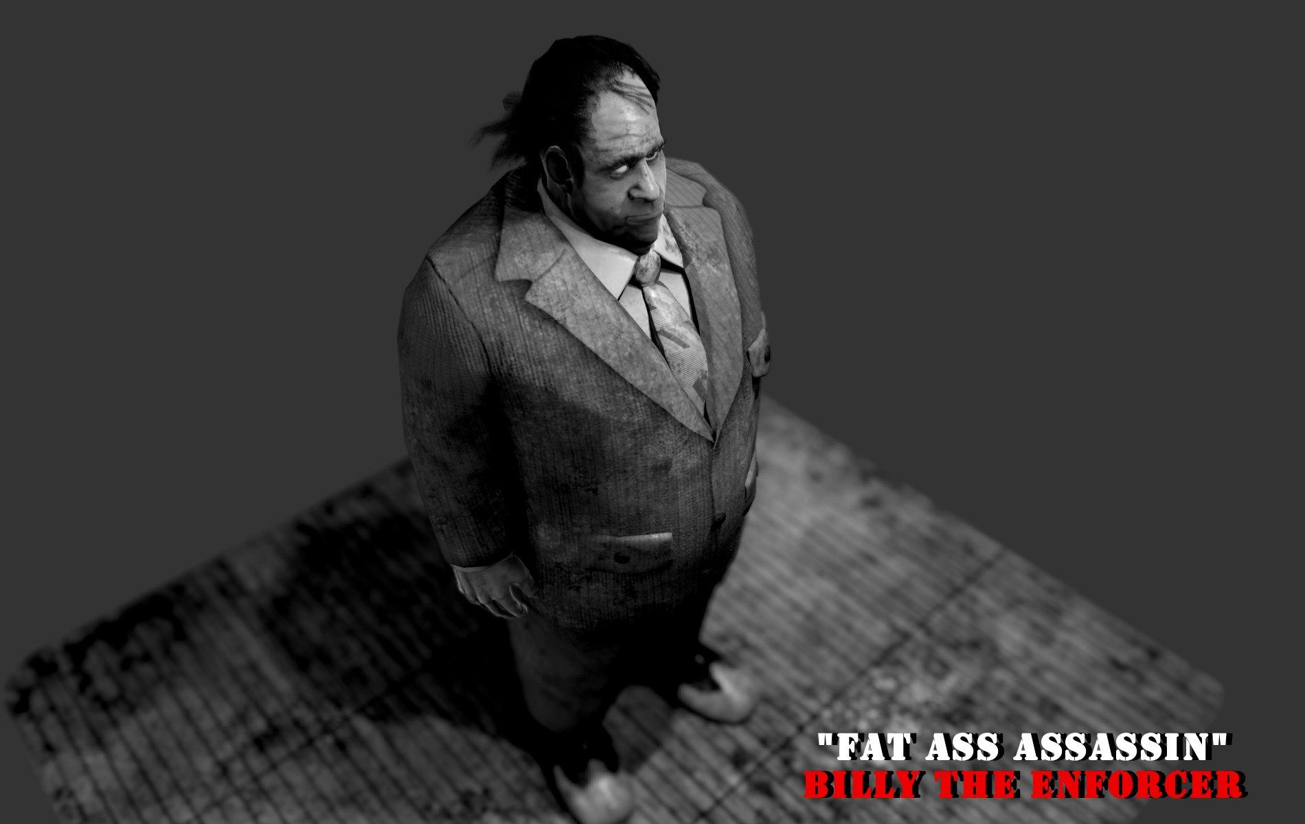 Artstation Fatass Assassin Character Wip Speed Demon