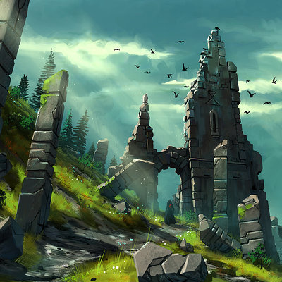 Tim kaminski castle ruins