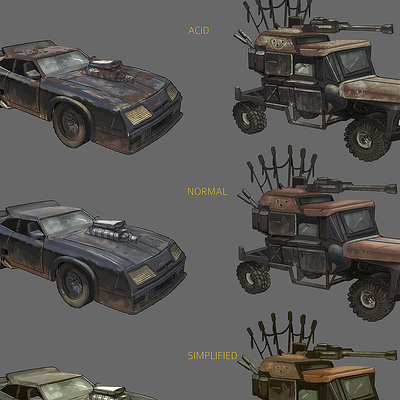 Robin chyo madmax cars rendering