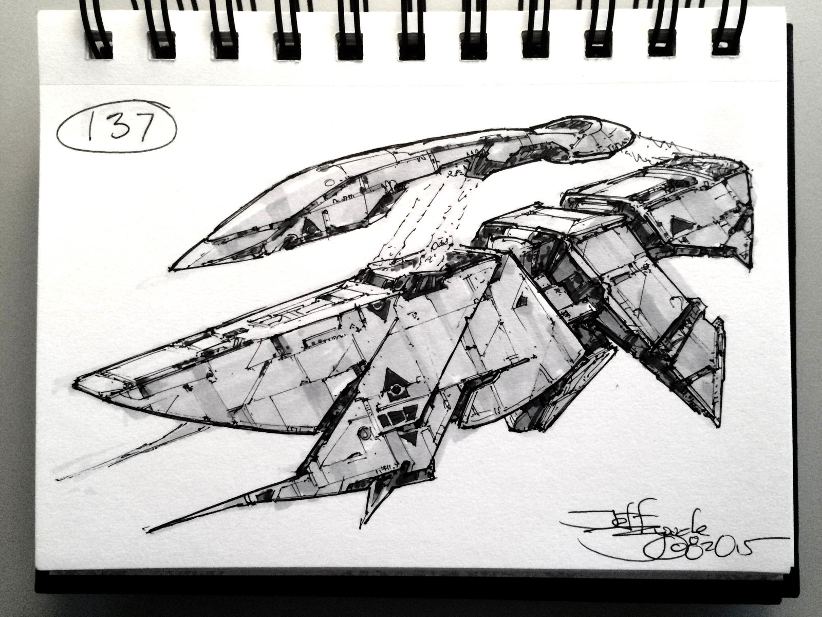SpaceshipADay 137