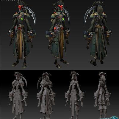 Hong chan lim hong smuggler armor