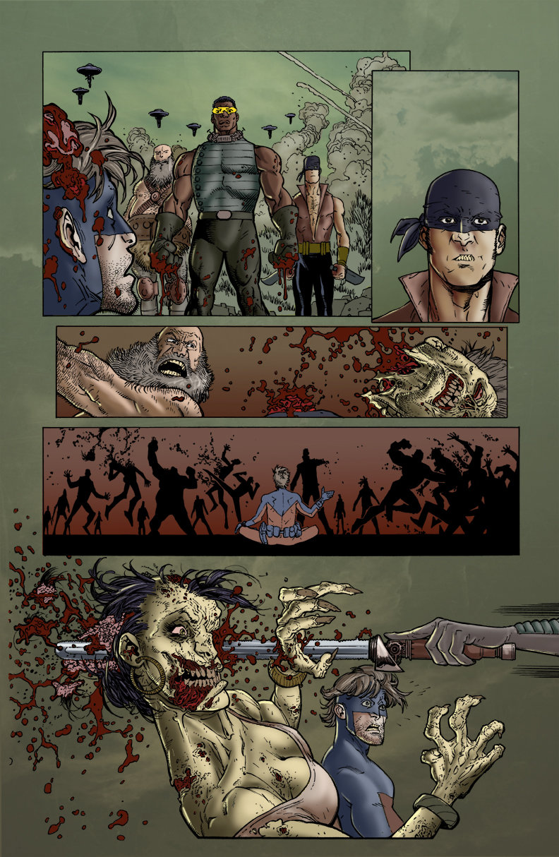 Walking Dead Issue 75 page 5  (Sample Colours)