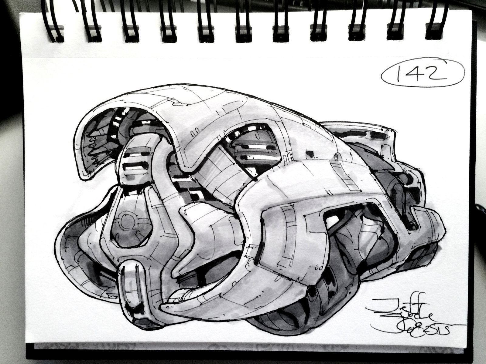 SpaceshipADay 142