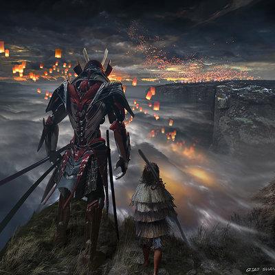 samurai armor concept 1