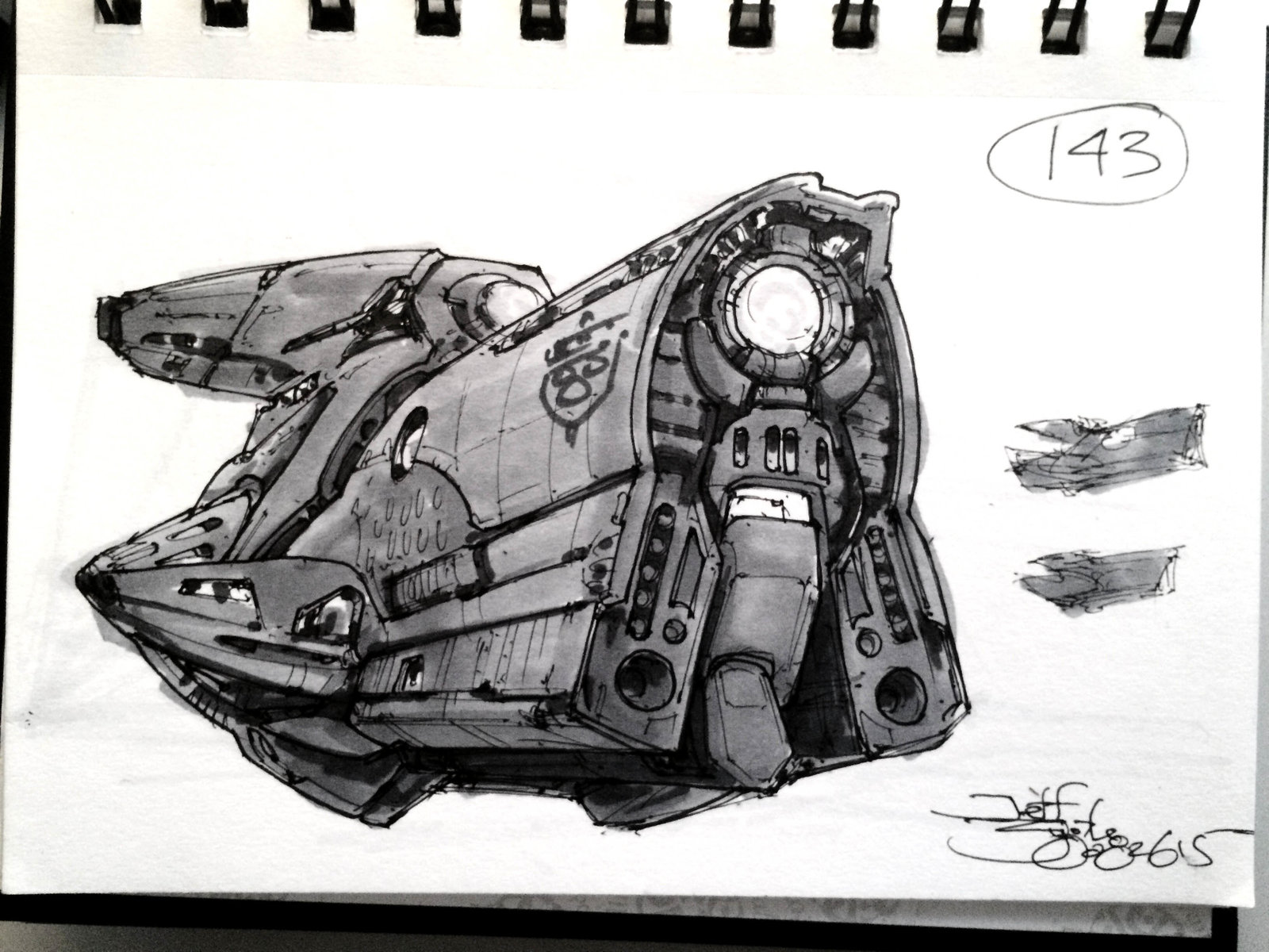 SpaceshipADay 143