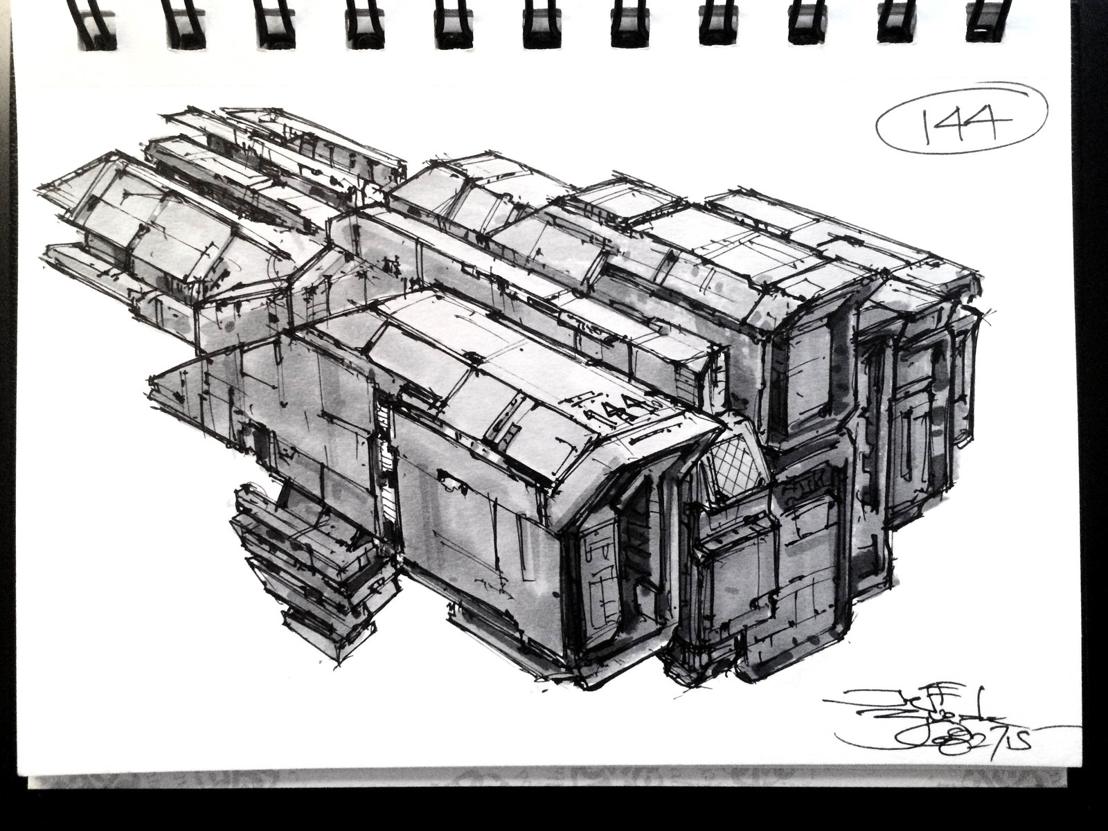 SpaceshipADay 144