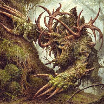 Burburan studio carnivorous moss beast burburanstudio