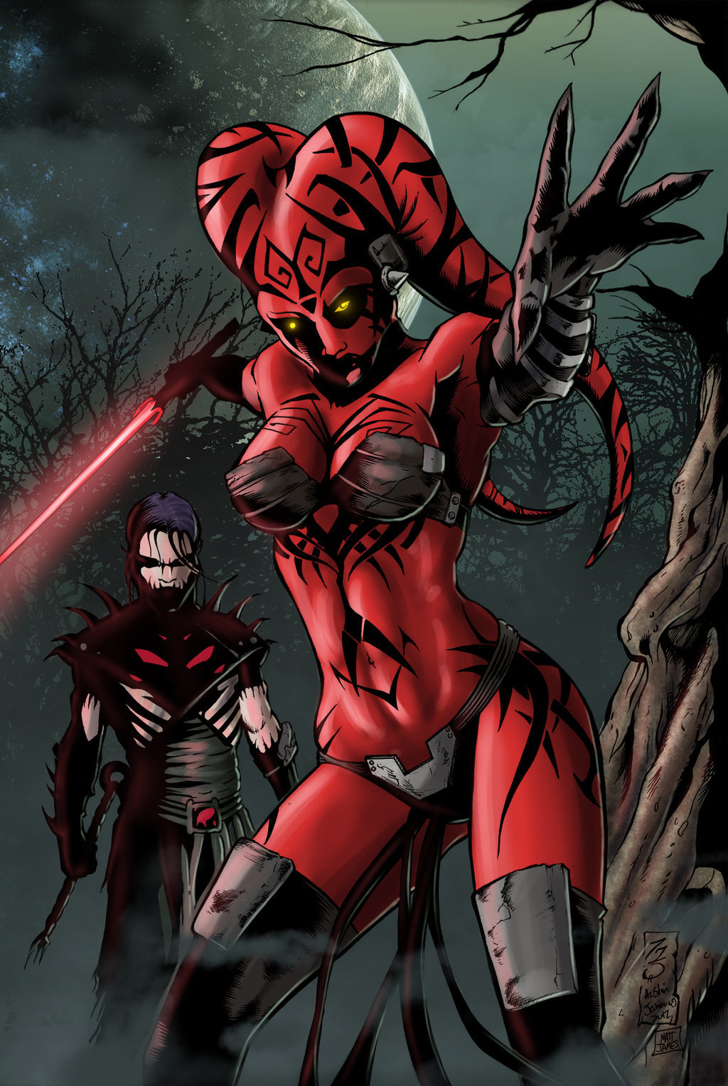 Darth Talon and Darth Nihl