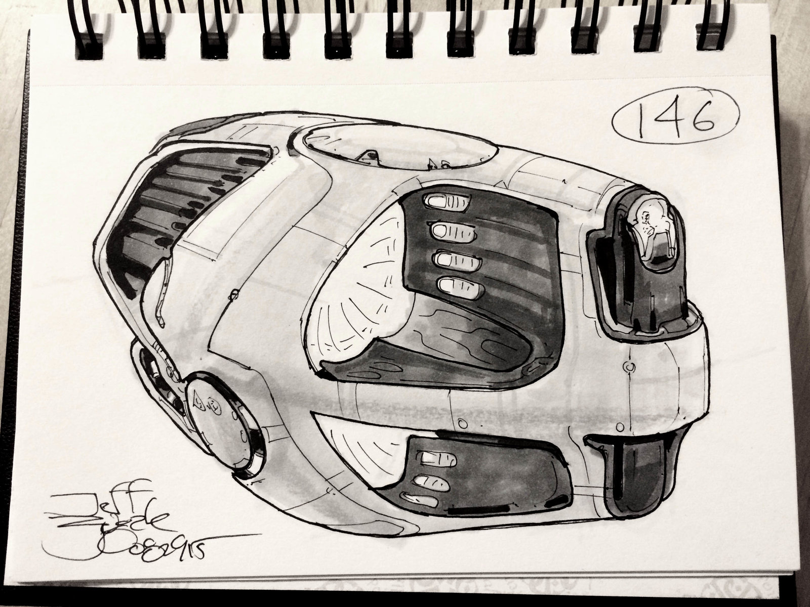 SpaceshipADay 146