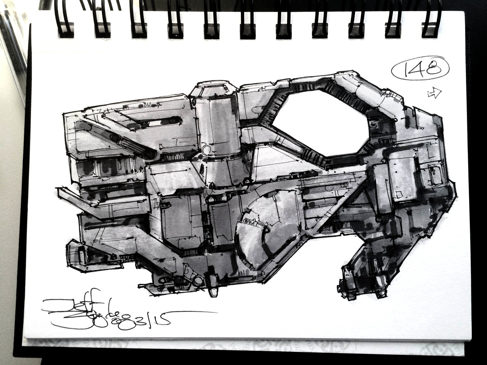 SpaceshipADay 148