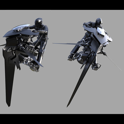 Gerald blaise bike concept model