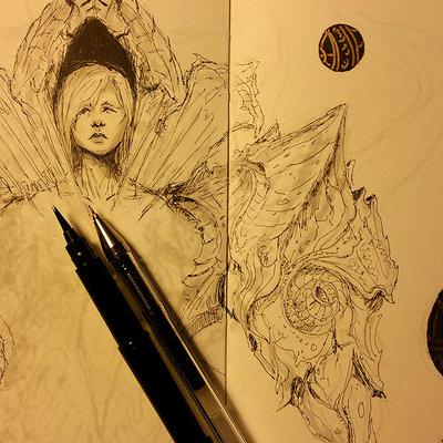 Muyoung kim sketchbook 27 wip