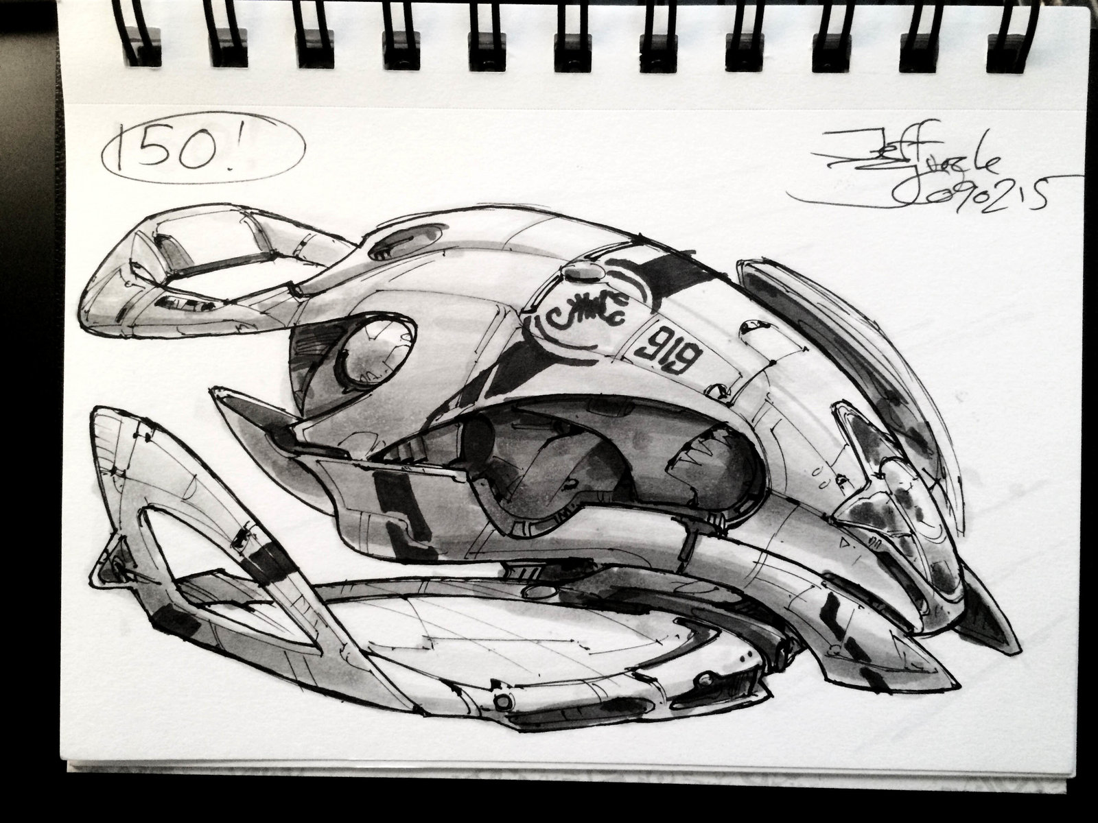 SpaceshipADay 150