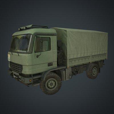 Ken lesaint truck thumb